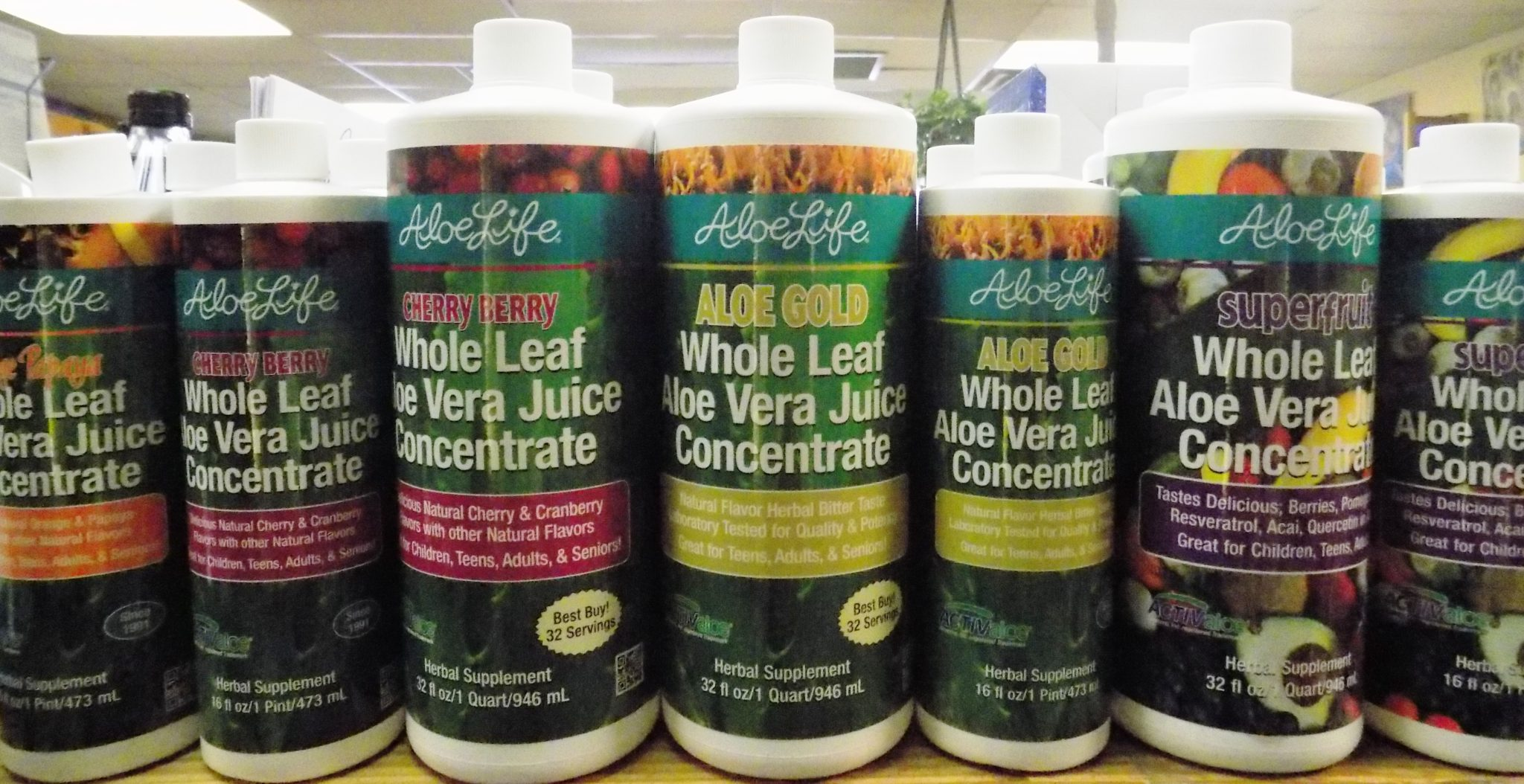 Aloe Life Whole Leaf Juice Concentrates®