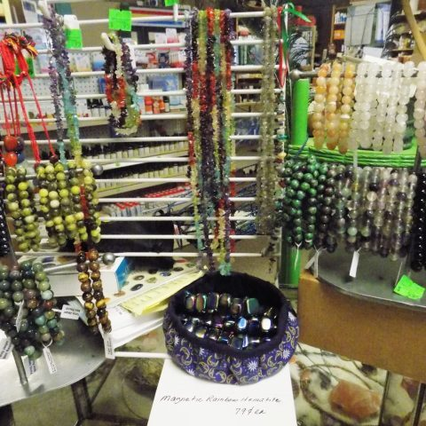 Jewlery Made of Natural Stones
